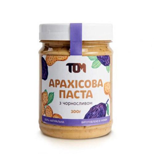 Арахисовая паста TOM peanut butter Арахісова Паста 300 g