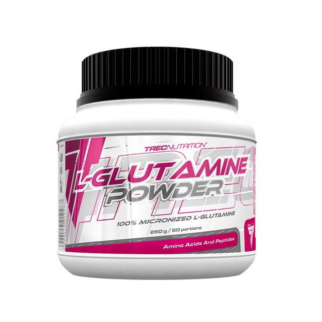 Глютамин TREC nutrition L-Glutamine powder 250 g натуральный вкус