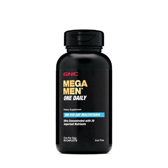 Витамины для мужчин GNC Mega Men One Daily 60 caplets
