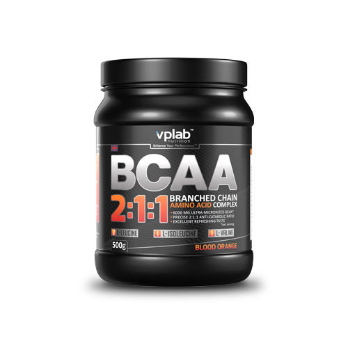 ВСАА Аминокислоты VP Lab BCAA 2:1:1 500 g