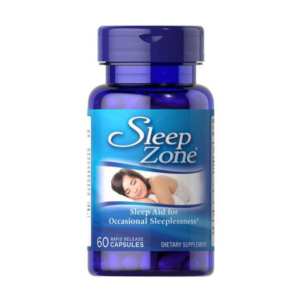 Мелатонин Puritan's Pride Sleep Zone 60 caps