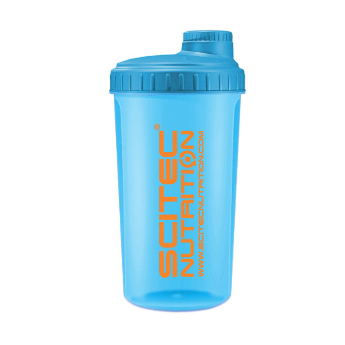 Scitec Nutrition Shaker NEON Blue (700 ml)