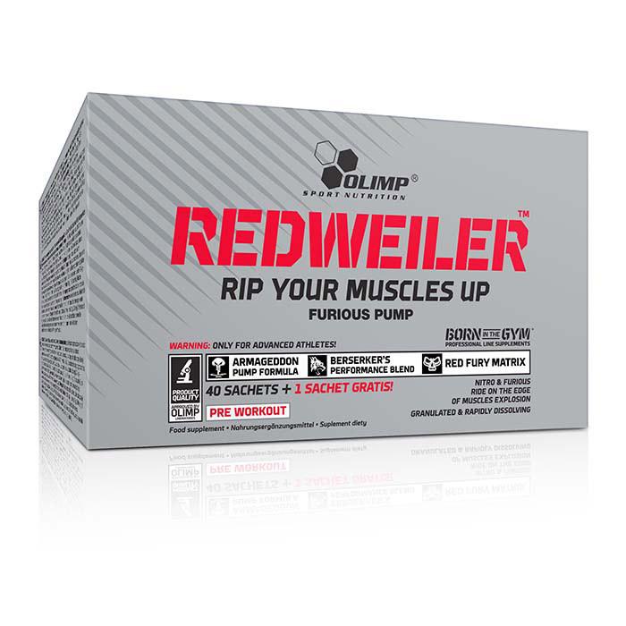 Предтренировочный комплекс OLIMP Red Weiler 40 sachets