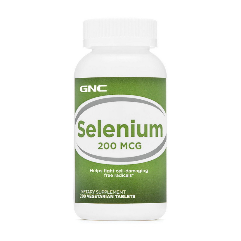 Селен GNC Selenium 200 mcg 100 veg tabs