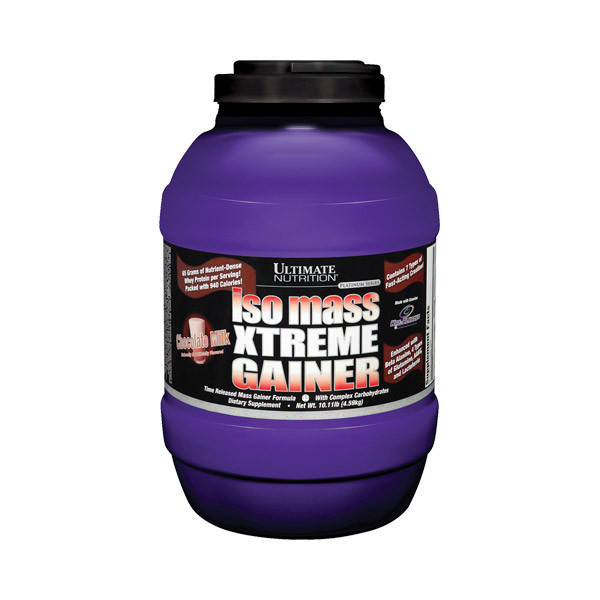 Гейнер Ultimate Nutrition Iso Mass Xtreme Gainer 4,52 kg
