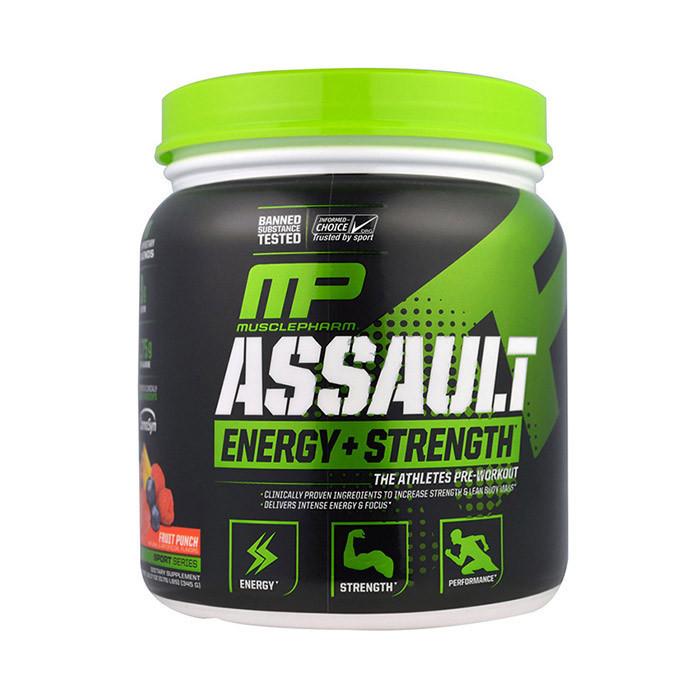 Предтренировочный комплекс Muscle Pharm Assault Energy+Strength 333 g