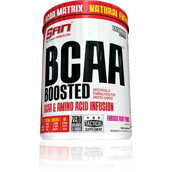 ВСАА Аминокислоты SAN BCAA Boosted 418 g