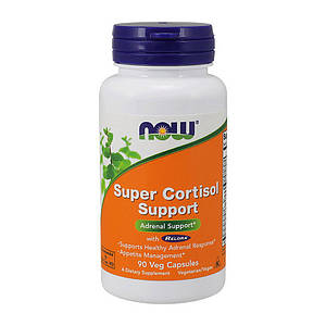 Снижение кортизола NOW Super Cortisol Support 90 veg caps