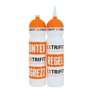 Бутылка для воды EXTRIFIT Bottle White long nozzle 700 ml