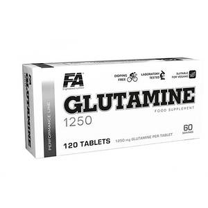 Fitness Authority Nutrition Glutamine 1250 (120 tabs)