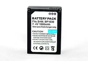 Аккумулятор BP-1030 (BP1030) - аналог для камер SAMSUNG NX200, NX210, NX1000 - 1600 ma