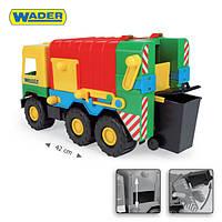 """Игрушечный мусоровоз Wader  - детская машинка серии """"Middle truck"""""""