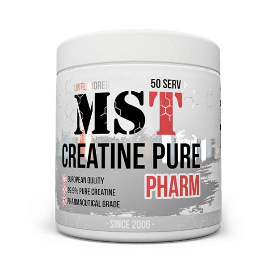Креатин моногидрат MST Creatine Pure 250 g натуральный вкус