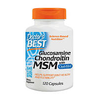 Doctor's Best Glucosamine Chondroitin with MSM (120 caps)