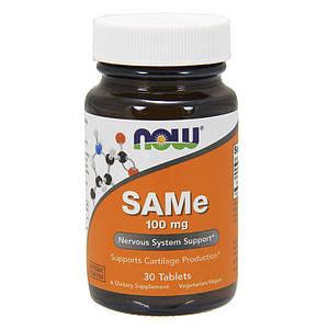 Аденозилметионин NOW SAMe 100 mg 30 tabs