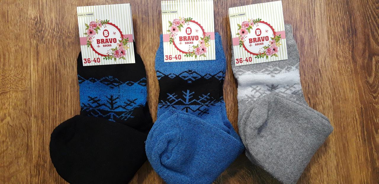 """Шкарпетки жіночі махрові,стрейчові """"Bravo"""", Туреччина"""