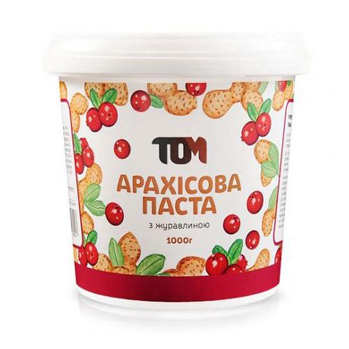 ТОМ Арахисовое масло с клюквой (1 kg)