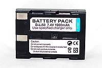 Аккумулятор D-LI50 (аналог) для PENTAX K10D, K20D  - 1900 ma