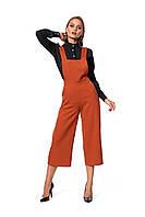 Стильный женский комбинезон - трансформер, ткань креп костюмный, размер 42,44,46,48.