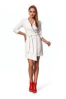 Молодежное, женское платье, прилегающего силуэта, длина - мини, ткань дайвинг креп, размеры 42,44,46.