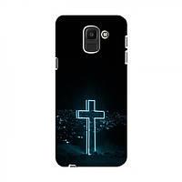 Чехол с принтом (Христианские) для Samsung J6 2018 (AlphaPrint) (Самсунг Джей 6 2018, Ж 6 2018), фото 1