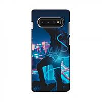 Чехол с печатью (Мода) для Samsung S10 (AlphaPrint) (Самсунг Самсунг s10), фото 1