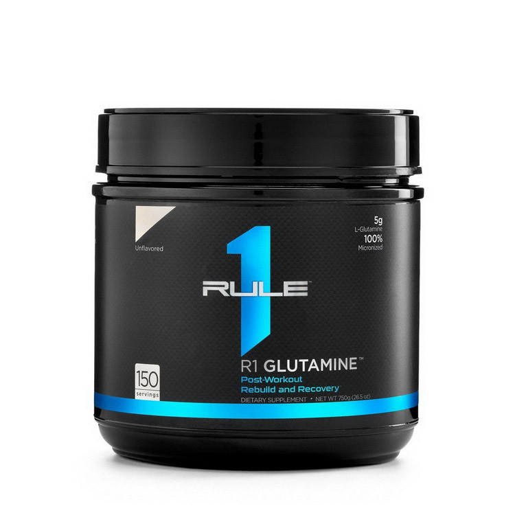 Глютамин R1 (Rule One) Glutamine 750 g натуральный вкус
