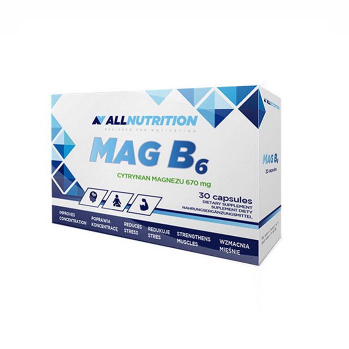 Магний Б6 AllNutrition MagB6 30 caps