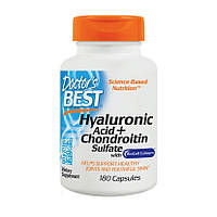 Doctor's Best Hyaluronic Acid + Chondroitin Sulfate with Collagen (180 caps)