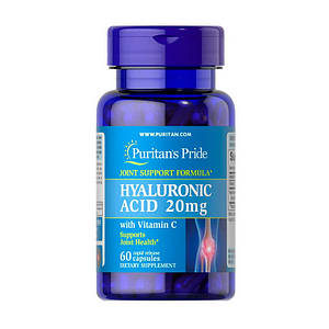 Puritan's Pride Hyaluronic Acid 20 mg (60 caps)