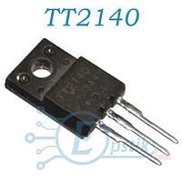 TT2140LS, транзистор биполярный, NPN 1500V 6A, TO220F