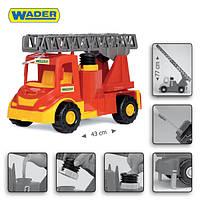"""Пожарная машина с водой  Wader  - детская машинка серии """"Multi truck"""""""