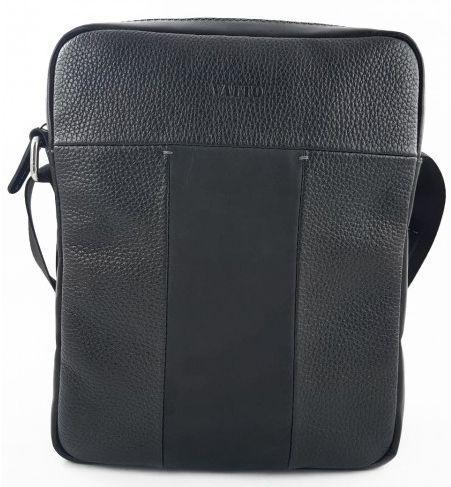 Чоловіча сумка наплічна Vatto, чорний