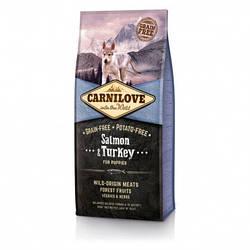Корм Carnilove Puppy Salmon & Turkey Карнілав з лососем та індичкою для цуценят всіх порід 12 кг