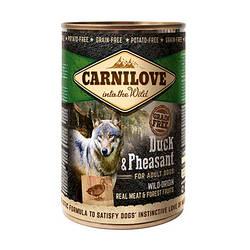 Корм консерва Carnilove Карнілав для собак з качкою і фазаном 400 г