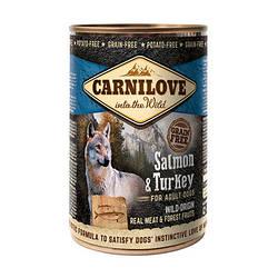 Корм консерва Carnilove Карнілав для собак з лососем та індичкою 400 г