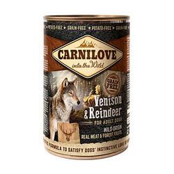 Корм консерва Carnilove Карнілав для собак з м'ясом північного оленя 400 г