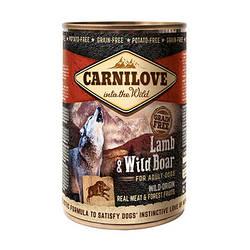 Корм консерва Carnilove Карнілав для собак з ягням та кабаном 400 г