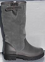 Сапоги зимние серые для девочки от производителя модель О-110, фото 1