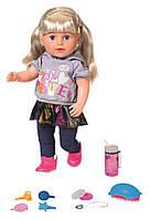 "Кукла Baby Born - Беби Борн ""Нежные объятия"" Сестренка Модница 43см, Zapf Creation, 4+ (824603)"