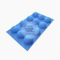 Силіконова форма - Півсфера - 12 клітинок