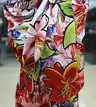 Палантин з віскози 10695-5, павлопосадский палантин з віскози, розмір 65х200, фото 4