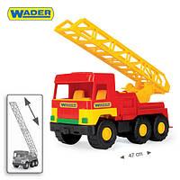 """Пожарная машина  Wader  - детская машинка серии """"Middle truck"""""""