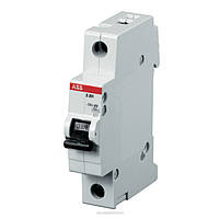 Автоматический выключатель ABB S201M-C50 (1п, 50A, Тип C, 10kA) 2CDS271001R0504