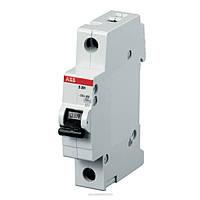 Автоматический выключатель ABB S201M-C63 (1п, 63A, Тип C, 10kA) 2CDS271001R0634