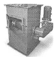 Барабанный магнитный сепаратор БМ-300 для песка, сахарного песка, жома, муки, стекольной шихты и т.д.
