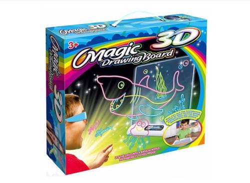 Доска для рисования Magic Drawing Board EL-623,3D доска
