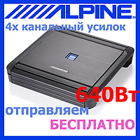 Звуковой усилитель ALPINE MRV-F300 (4*75 Вт на 2 Ом)
