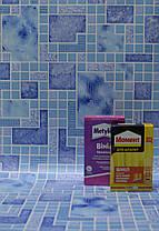 Обои для стен шпалери абстракция под плитку синие сині влагостойкие  0.53*10м, ограниченное количество, фото 3