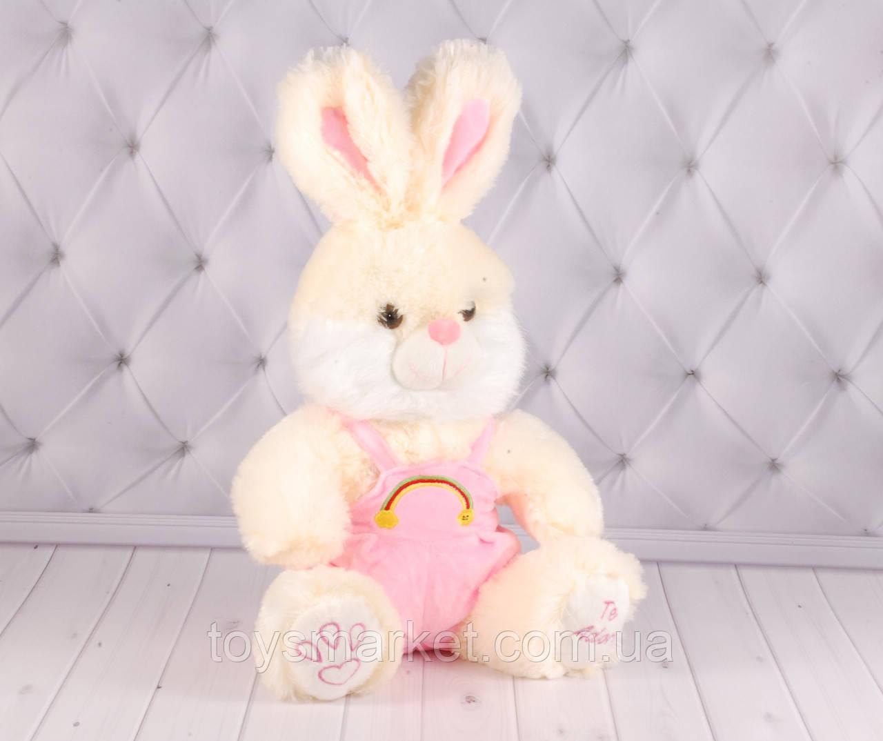 """Мягкая игрушка зайка """"Семка"""", плюшевая игрушка заяц, игрушка зайчик"""